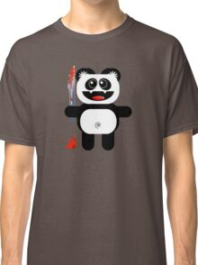 PANDA 2 (Cute pet with a sharp knife!) Classic T-Shirt