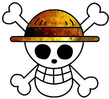 Galaxy Luffy's Flag by ZipZapAttack