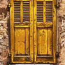 The Yellow Shutters by jean-louis bouzou
