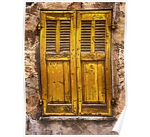 The Yellow Shutters Poster