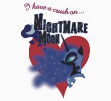 I have a crush on... Nightmare Moon - with text by Stinkehund