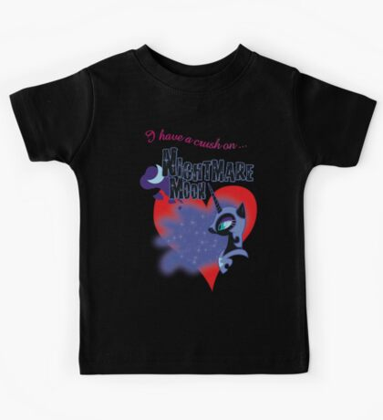 I have a crush on... Nightmare Moon - with text Kids Clothes