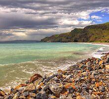 Storms near Rapid Bay, Fleurieu Peninsula SA by Simon Bannatyne