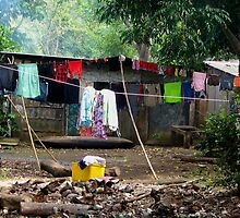 Village Washday by Sarah Howarth [ Photography ]