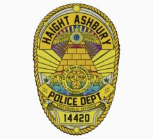 HAIGHT ASHBURY POLICE DEPT. SHIELD color by GUS3141592