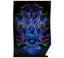 Psychedelic Buddah Poster
