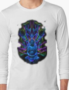 Psychedelic Buddah Long Sleeve T-Shirt