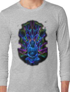 Psychedelic Buddah Long Sleeve T-Shirt
