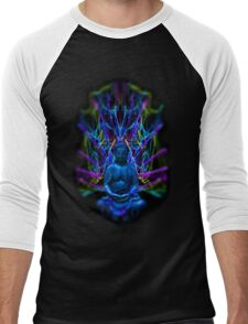 Psychedelic Buddah Men's Baseball ¾ T-Shirt
