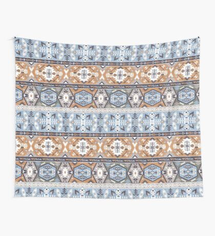 Seamless colorful tribal pattern Wall Tapestry