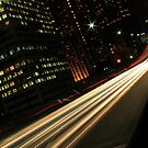 Sydney Light Trails by Ryan Conyers