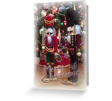 Christmas Changing of the guard Greeting Card