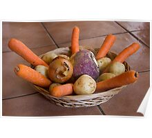Root crops Poster