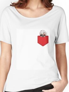 Kaneki in the pocket ~ Women's Relaxed Fit T-Shirt