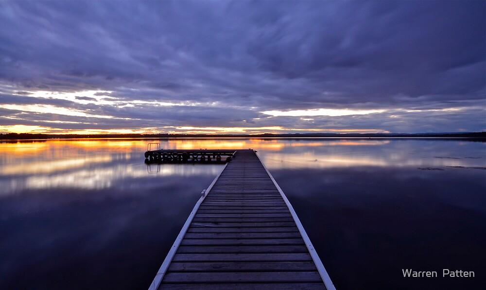 Peaceful Times. 11-9-11 (9-11) sunset by Warren  Patten