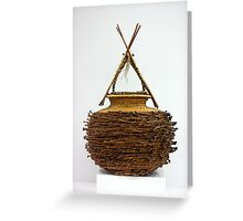 Bound & Unified In Contrast Greeting Card