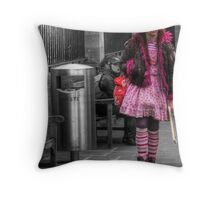 Walker in Pink - Oxford Throw Pillow