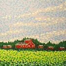 Red Barn by Alan Hogan