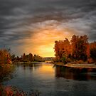 Fall Is In The Air ~ Willamette River ~ by Charles &amp; Patricia   Harkins ~ Picture Oregon