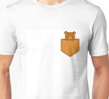 Rillakuma in the pocket ~ Unisex T-Shirt