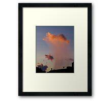 Virga at Sunrise Framed Print