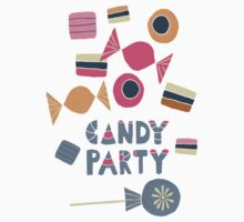 Candy Party One Piece - Short Sleeve