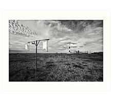 Wind gauge Art Print