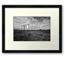 Wind gauge Framed Print