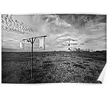 Wind gauge Poster