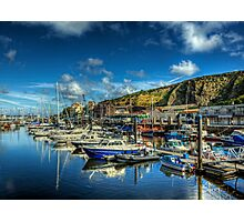 The Marina in Douglas, Isle of Man Photographic Print
