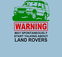 May Spontaneously Start Talking About Land Rover T-Shirt