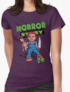 Horror Story Womens Fitted T-Shirt
