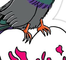Phoebe Buffay Pigeon Song Sticker