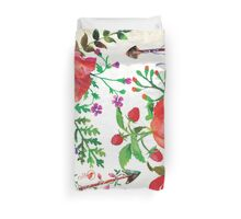 Vintage Flowers Design Duvet Cover