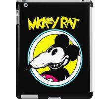 Rat Funny Parody Retro Cartoon iPad Case/Skin