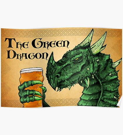 The Green Dragon Poster
