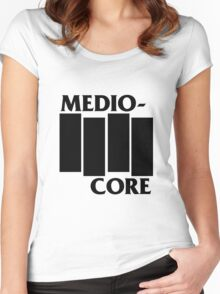 Medio-Core Women's Fitted Scoop T-Shirt