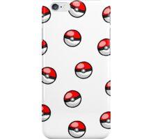 Pokemon balls ~ iPhone Case/Skin