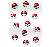 Pokemon balls ~ Poster