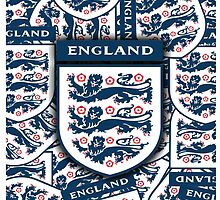 England football insignia badge by ALIANATOR