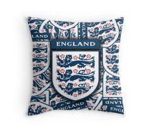 England football insignia badge Throw Pillow