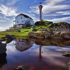 Cape Forchu Lightstation by Kathy Weaver