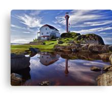 Cape Forchu Lightstation Canvas Print