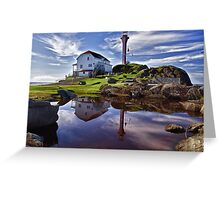 Cape Forchu Lightstation Greeting Card