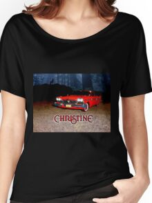 Christine Plymouth Fury 1958  Women's Relaxed Fit T-Shirt