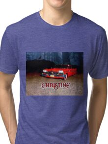 Christine Plymouth Fury 1958  Tri-blend T-Shirt