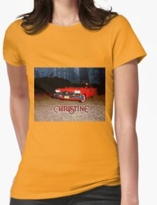 Christine - from the mind of horror writer stephen King Womens T-Shirt