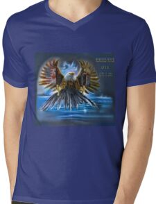Memories Never Die Tribute 9/11 Mens V-Neck T-Shirt