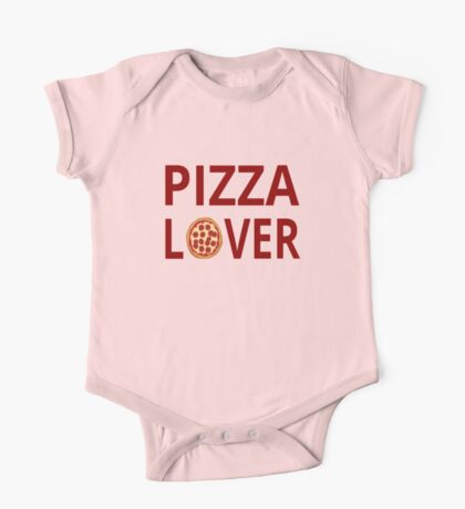 Pizza Lover One Piece - Short Sleeve