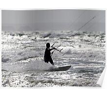 Wind, Waves & weekends Poster